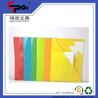 Wholesale PP Stationery Supplier A4 Loose Paper Customized Translucent L shaped File Folder from china suppliers