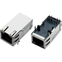 Wholesale 100M /1000M Magnetic Modular Jacks, RJ45, shielded with EMI fingers, built-in LED from china suppliers