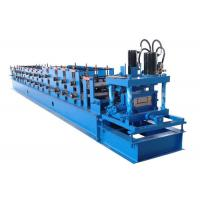 China Cold Iron Steel C Purlin Roll Forming Machine With PLC Computer Control Systerm on sale