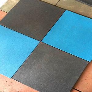 Anti-slip wear resistant outdoor indoor  floor rubber mats rubber mat  flooring rubber tile