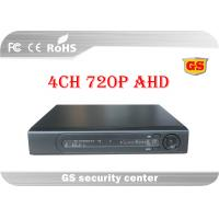 Wholesale OEM Security AHD CCTV DVR 4Ch RS485 PTZ Control 1280 X 720 Recording from china suppliers