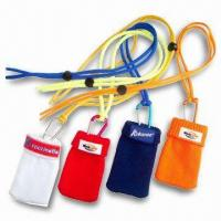 Wholesale Silk Screen Printed Mobile Phone Pouches, Available in Various Sizes and Colors from china suppliers