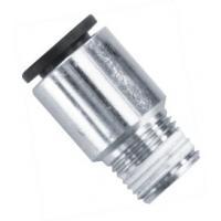 MALE STUD FITTINGS ROUND BODY Brass Straight Pneumatic Hose Fittings with Male BSPT Thread