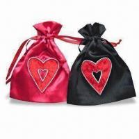 Wholesale Novelty Satin Bags, Available in Various Colors and Shapes from china suppliers