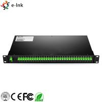 Wholesale Customized Rack Mount Fiber Optic Switch LC/SC/ST/FC UPC/APC 1260~1650nm Bandwidth from china suppliers