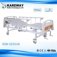 Private Hospital Manual Hospital Bed Easy Cleaning With Silent Wheels