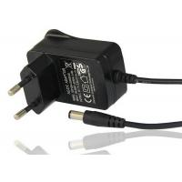 Wholesale EU 2 Pin Plug In Power Adapter With DC Plug 9V 1A Output Light Weight from china suppliers