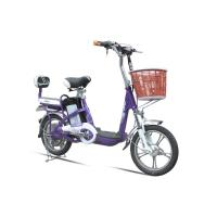 Wholesale 38V Li Battery 2 Wheel Adult Electric Bike Purple Electric Road Bicycle from china suppliers
