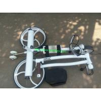 Wholesale Top quality Stainless steel Golf Trolley Li-ion Golf trolley golf pushcart from china suppliers