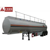 Wholesale Heavy Oil Fuel Tank Trailer Widely Used To Transport , Tractor Trailer Fuel Tank from china suppliers