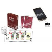 Wholesale Belgium Copag Plastic Red Poker Stars Marked Poker Cards For Poker Analyzer from china suppliers