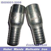 Wholesale Galvanized iron king nipple with NPT thread from china suppliers