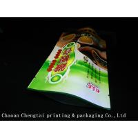High Barrier Stand Up Tea Packaging Pouches With Metallic Eco Friendly Material