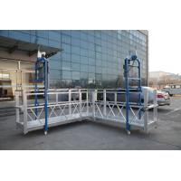 Wholesale Steel Painted / Hot Galvanized / Aluminum  ZLP630 / ZLP800 / ZLP1000  L Shaped  Suspended Platform For Wall Painting from china suppliers