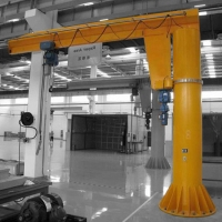 Buy cheap Wall Mounted Light Lifting Wire Rope Pulling Jib Crane from wholesalers