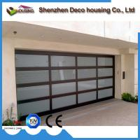 Wholesale Modern design automatic overhead folding sectional glass garage door prices from china suppliers