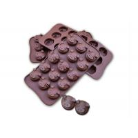 Buy cheap Fifteen Cavaties Silicone Chocolate Molds 46g Weight For Microwave Ovens from wholesalers