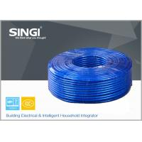 China HBVB Polypropylene Insulated , PVC Sheath Oblate Telephone Wire on sale
