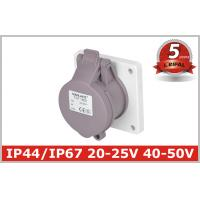Indoor 32 Amp Industrial Power Socket / Single PhaseOutlets IP44