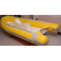 China 0.9mm PVC Tarpaulin Durable Rigid Hull Inflatable boat for sale on sale