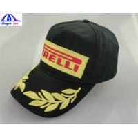 2016 Fashion 100% Cotton Customized Baseball Caps With Snapback , Embroidery .