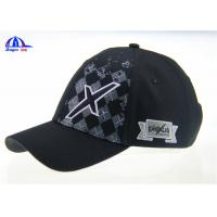 Printing and Embroidery 100%  Cotton Cool Baseball Caps for Boys / Man , Custom Size and Color
