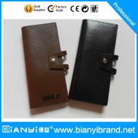 Wholesale Newly Exquisite Leather Custom Bank Card Holder from china suppliers