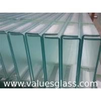 China Thermal Insulated U Glass , Low Iron Glass For Exterior Glass Wall Decoration on sale