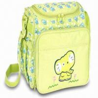 Wholesale Diaper Bag, Made of Polyester, Measuring 9.25 x 6 x 8.25 Inches from china suppliers