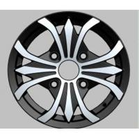 12 Inch Alloy Wheels With Machine Cut Lip For Vehicle / Car CB 56.1 - 73.1