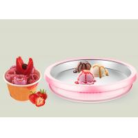 Buy cheap Non Electric Instant Ice Cream Tray Fried Ice Cream Roll Machine Homemade Tool from wholesalers