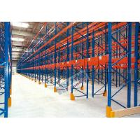 Wholesale Blue Orange Industrial Galvanised Pallet Racking Shelves Material Handling Racks from china suppliers