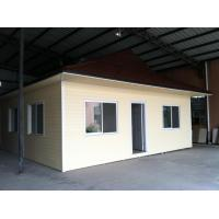 China Customized Prefab Bungalow Homes Angle Steel Frame, Flat Packed With East Timor Style Roof on sale