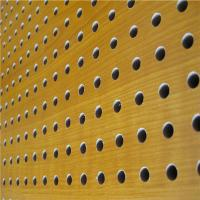 Wholesale Mdf Acoustic Board Wooden Timber Perforated Sound Absorbing Panels from china suppliers