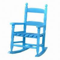 Wholesale Kid's Wooden Rocking Chair, Available in Various Sizes and Colors from china suppliers