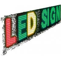 Wholesale P10 LED Display Sign, 1-8 Line 256x64 Tri-Color from china suppliers
