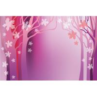 Safety Bamboo Fiber Faux Lightweight Stone Wall Panels Pink Autumn Wear Resistant