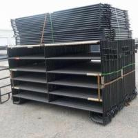 Wholesale Black Painted Corral Horse Panel from china suppliers