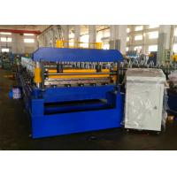 China Quick Change Roofing Sheet Roll Forming Machine, Rafted Type Metal Roofing Rollforming Machine on sale