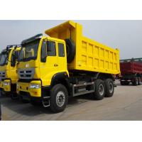Wholesale SINOTRUK Howo Dump Truck , 336 HP 6x4 Dump Truck 30 - 40 Ton Load Capacity from china suppliers