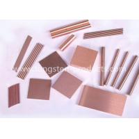 Wholesale Polished Tungsten Copper Alloy Copper Tungsten Bricks 5mm - 100mm Thickness from china suppliers