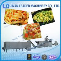 Wholesale Easy operation single screw extruder italian pasta processing machines from china suppliers