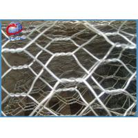 Wholesale Stainless Steel Gabion Baskets Fence , Gabion Wall Mesh For Flood Control from china suppliers