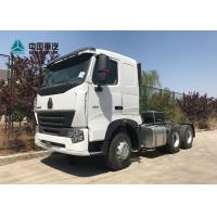 Wholesale HOWO A7 420 HP 6X4 Tractor Trailer Truck / Diesel Tractor Truck HF7 Front Axle from china suppliers