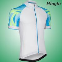 Wholesale OEM Short Sleeve Cycling Wear Mountain Biking Apparel ,  White / Black from china suppliers