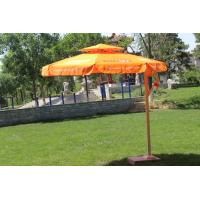 Wholesale Double Layer Roma Offset Umbrella , Large Round Patio Umbrellas Parasols from china suppliers