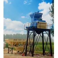 China Low Noise Concrete Mixing Station 3 × 7m3 Aggregates High Speed Water Flow on sale