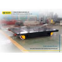 Buy cheap Material Transportation Heavy Duty Plant Trailer / Motorized Transfer Trolley from wholesalers