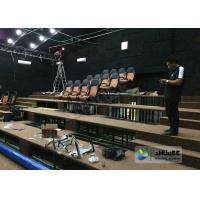 China 180 Degree Curved Screen 5D Theater System Counting System 9 Seats on sale