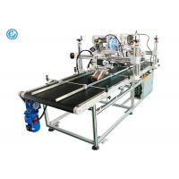 China Double Side Automatic Labeling Machine For Big Cardboard Box High Efficiency on sale